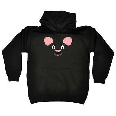 Funny Kids Childrens Hoodie Hoody - Am Mouse