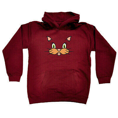 Funny Kids Childrens Hoodie Hoody - Am Cat