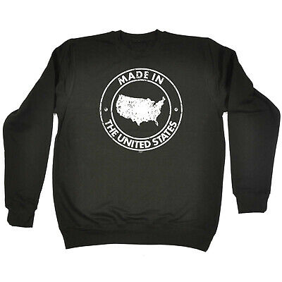 Funny Kids Childrens Sweatshirt Jumper - Made In The United States