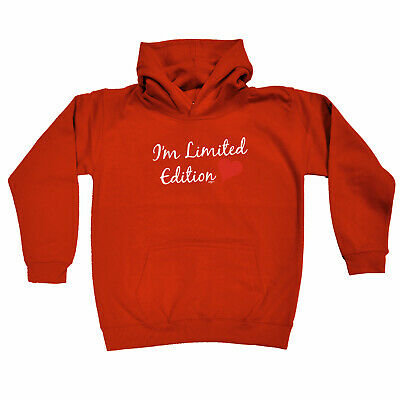 Funny Kids Childrens Hoodie Hoody - Im Limited Edition Heart