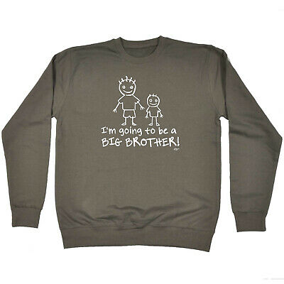 Funny Kids Childrens Sweatshirt Jumper - Im Going To Be The Big Brother