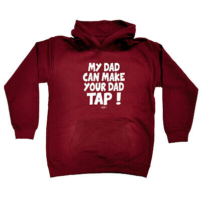 Funny Kids Childrens Hoodie Hoody - My Dad Can Make