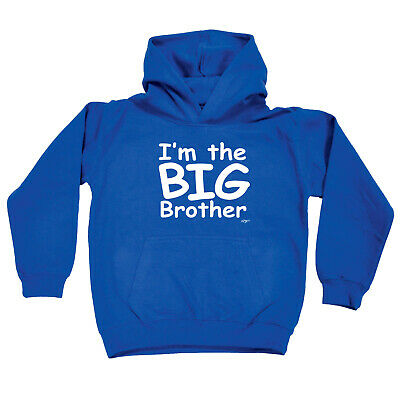 Funny Kids Childrens Hoodie Hoody - Im The Big Brother