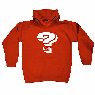 Funny Kids Childrens Hoodie Hoody - What Would Jesus Do Question Mark