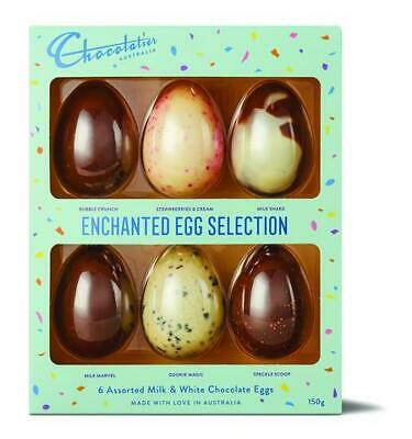 Chocolatier - Enchanted 6 Pack Egg Selection (150g)
