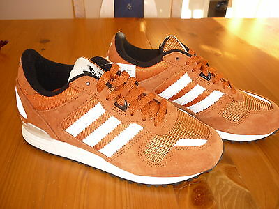 Adidas Originals Zx700 Mens Trainers Fox Red Uk Size 4 (Eur 36  2/3) Bnwt