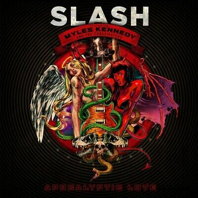 Slash - Apocalyptic Love-Deluxe Edition (CD Used Very Good) Feat. Miles Kennedy