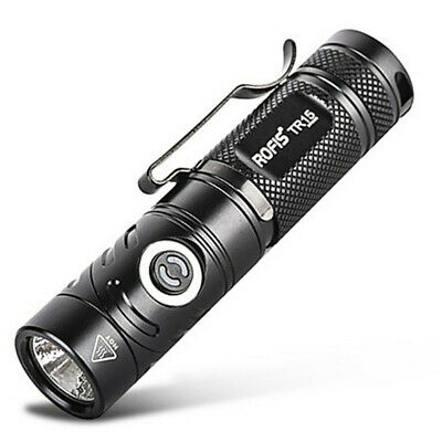 ROFIS TR15 700Lm Adjustable-head Outdoor LED Flashlight Camping Torch Light