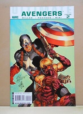 ULTIMATE AVENGERS #2 09/10 Marvel 9.0 VF/NM Uncertified (AFTER ULTIMATUM)PACHECO