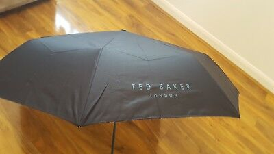 Ted Baker DOWNPOR Printed compact Umbrella BNWT Current season