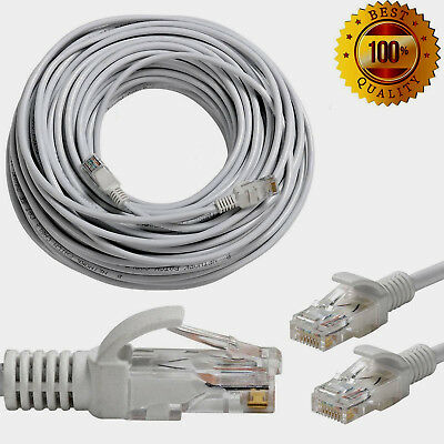 RJ45 Cat6 Ethernet Network Cable Lead FULL COPPER LAN UTP Patch Wholesale UK