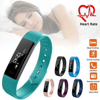 Smart Watch Band Sport Fitness Activity Tracker For Kids Fit bit Android iOS UK