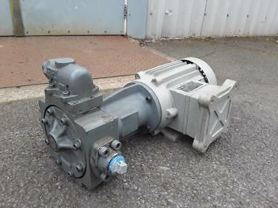 Tuthill Gear Transfer Pump 1015-2S 71CC Fitted With 1.1KW 3Ph Flameproof Motor *