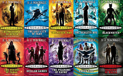 The PENDRAGON Series By DJ MacHale (10 MP3 Audiobook Collection)