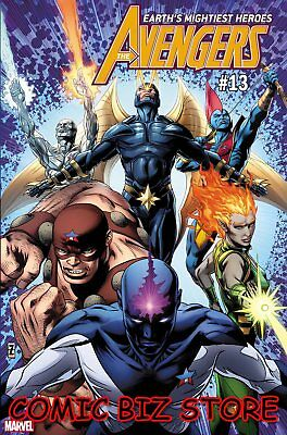 Avengers #13 (2019) 1St Printing Zircher Guardians Of The Galaxy Variant Cover