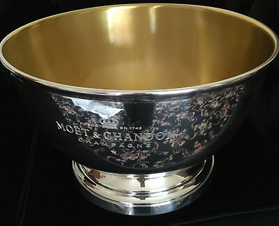 Moet Chandon Ice Imperial Double Magnum Champagne Bucket Pewter Unused Bnib
