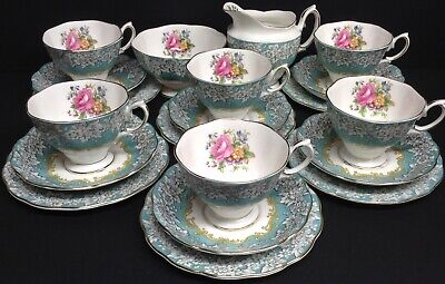 Royal Albert Enchantment 20 Piece Tea Set