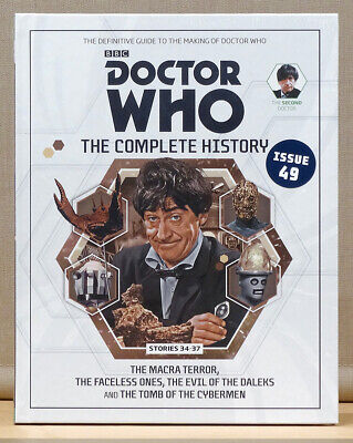 Doctor Who Complete History Issue 49 Volume 10 The Macra Terror  *NEW & SEALED*