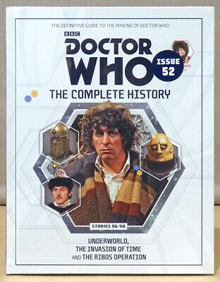 Doctor Who Complete History Issue 52 Volume 28 Underworld  *NEW & SEALED*