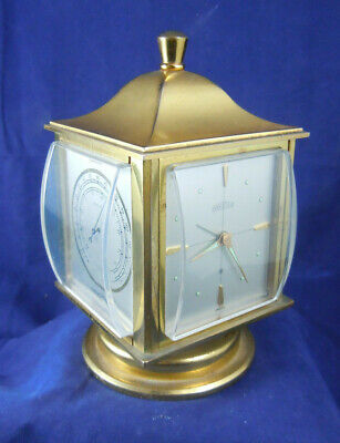 Angelus Table Alarm Clock, Weather Station, Hygrometer, Barometer, Thermometer*.