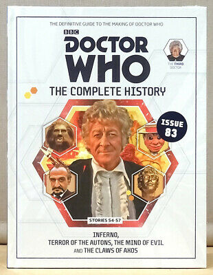 Doctor Who Complete History Issue 83 Volume 16 Inferno  *NEW & SEALED*
