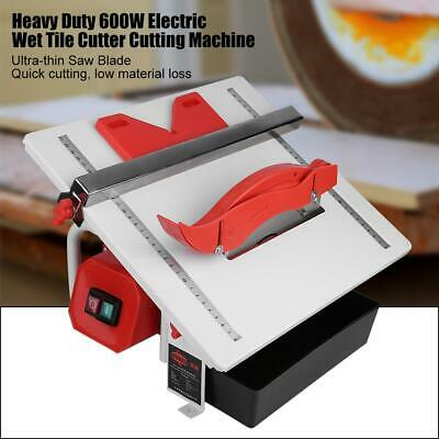 High Power 600W Electric Wet Tile Cutter Cutting Machine with Cutting Blade 220V