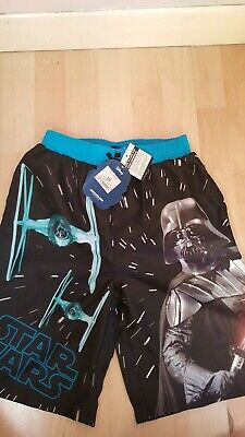 ca9b7699e9 BNWT BOYS STAR Wars Swim Shorts - Age 9 -10 - By Disney Store ...