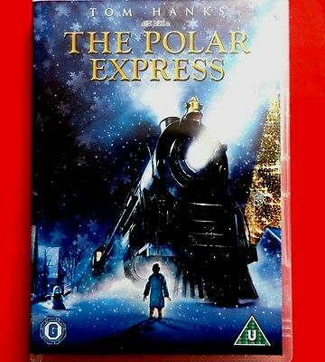 THE POLAR EXPRESS    DVD,    Tom Hanks     *VG*