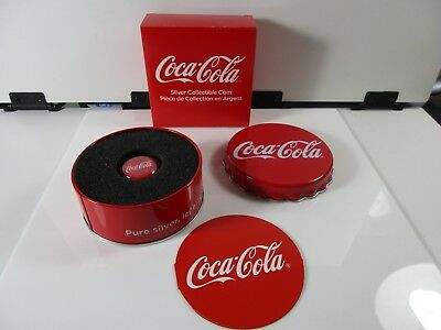 3 sets -  2018 FIJI SILVER $1 COIN COCA-COLA LIMITED EDITION W/ ALL COA  - lot 5