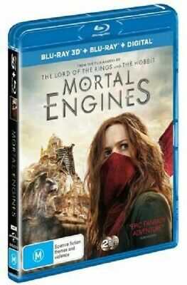 PREORDER: MORTAL ENGINES (3-D) & 2D  -  Blu Ray - Sealed Region B