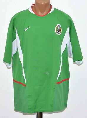 2d7721605 Mexico National Team 2002 2003 Home Football Shirt Jersey Nikesize Xl Adult