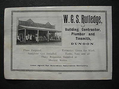 W G S Rutledge Dunoon NSW  Building Contractor