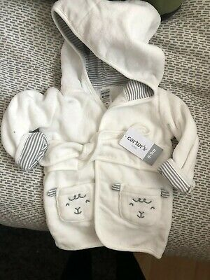Unisex baby dressing gown