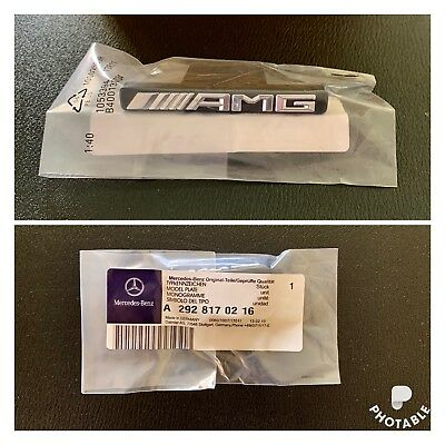 Mercedes GLC  /AMG front grill badge For  180 200 260 300 🇬🇧