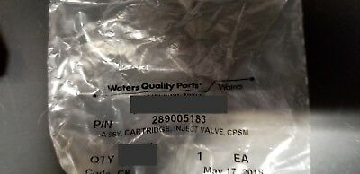 NEW!! Waters Alliance Acquity  Assy Cart Inject Valve CPSM, hp p/n: 289005183