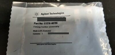 NEW!! Agilent 1100 1200 1260 HPLC Fitting Holder Assembly  p/n: G1316-68706