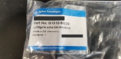 NEW!! Agilent 1100 1200 1260 Cartridge for active inlet 600 bar p/n: G1312-60020