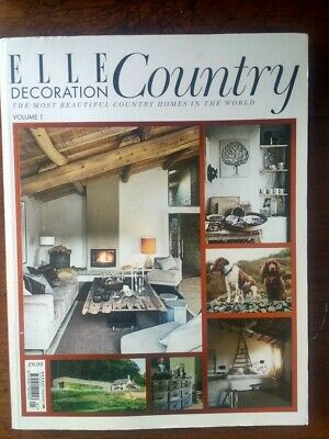 Elle Decoration Country magazine 2012 Issue 1 - read once