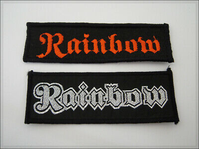 Vintage Patch RAINBOW Hard Rock Deep Purple Elf Ritchie Blackmore. aufnäher