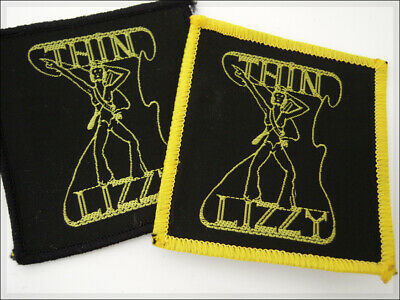 Vintage Patch THIN LIZZY Phil Lynott Hard Rock Retro naszywka aufnäher parche