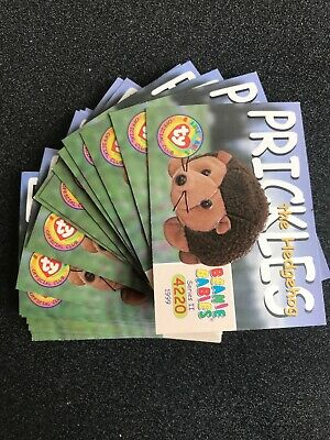 """Beanie Baby Collector Card Lot """"38"""" Prickles"""