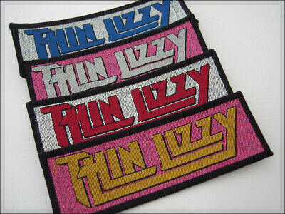 Vintage Patch THIN LIZZY Phil Lynott Hard Rock Retro aufbügler parche aufnäher