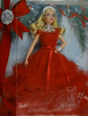 2018 Holiday Collector Barbie Signature Doll Brand New Box Damage
