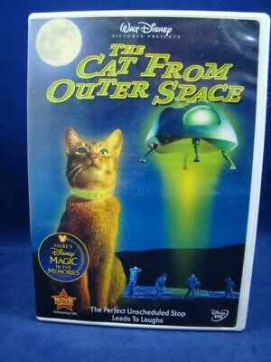 DISNEY THE CAT From Outer Space UFO U S  Government Science