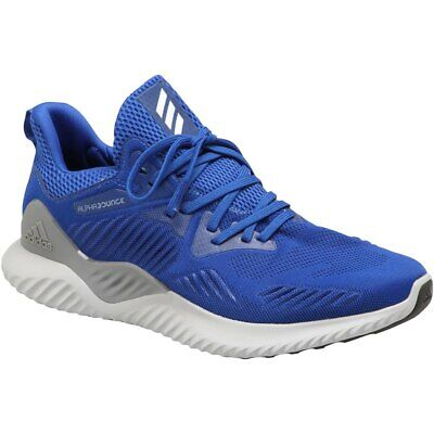NEW! Adidas Men's Alphabounce Beyond Team Running Training Shoes Royal - B37227