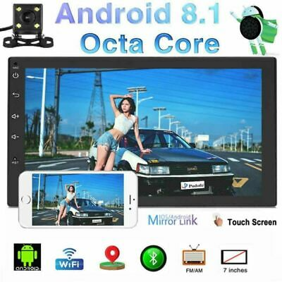 "Quad Core Android 8.1 GPS Mirror Link 7"" 2DIN Autoradio Bluetooth WiFi 3G/4G"