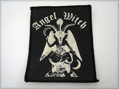 ANGEL WITCH Vintage Patch Baphomet Eliphas Levi, Black Sabbath Metallica Slayer