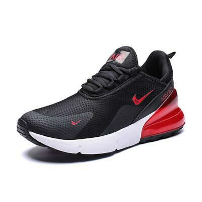 HOTMen's Sneakers 270 Athletic Flyknit Outdoor Running Air Cushion Jogging Shoes
