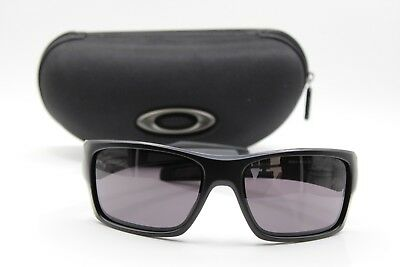 OAKLEY TURBINE OO9263-01 Sunglasses Matte Black Frames Grey Lenses ... 0bd93256f9