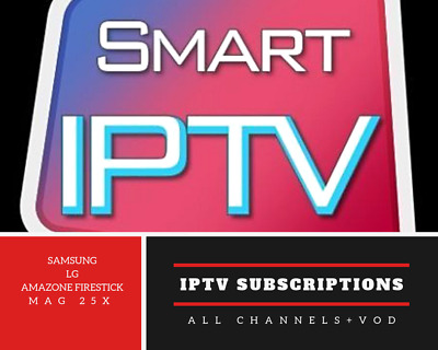 12 Months Iptv Subscription Premium Full Hd Channels Smart Tv Mag Android Box